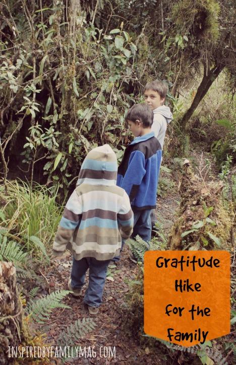 gratitude hike