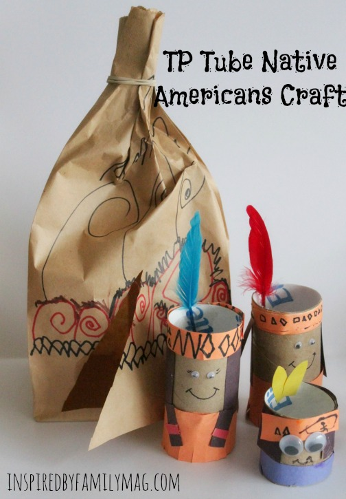 native american tp tube craft
