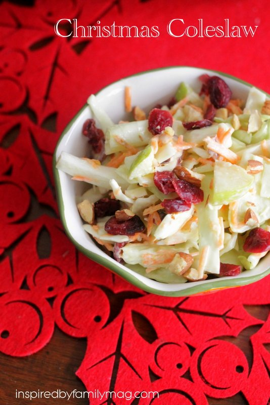 christmas coleslaw recipe