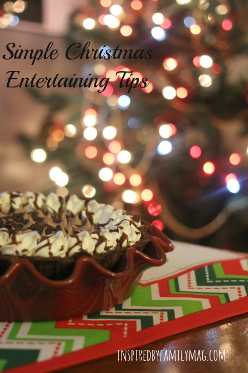 christmas entertaining tips