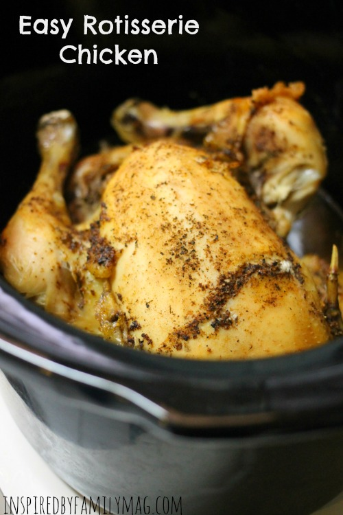 easy rotisserie chicken