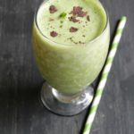 Thin Mint Smoothie {Healthy}