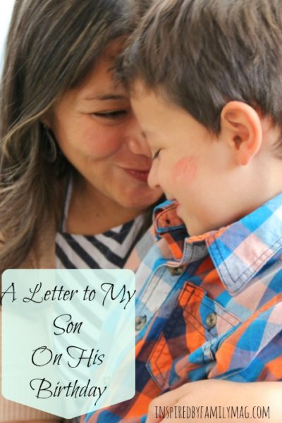 A Letter to My Son on His Birthday