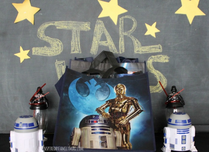star wars treat bag