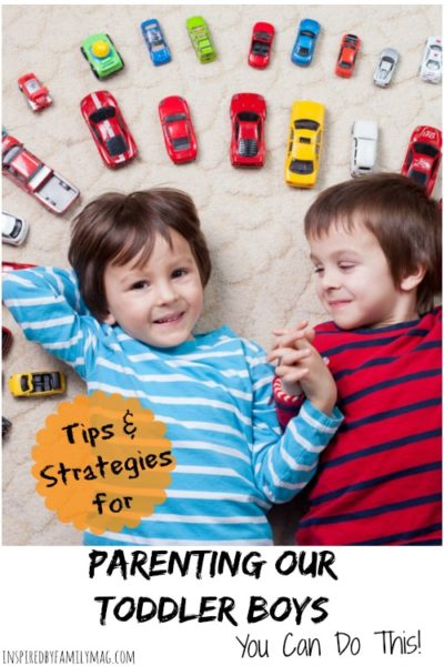 Parenting Toddler Boys–You Can Do This!