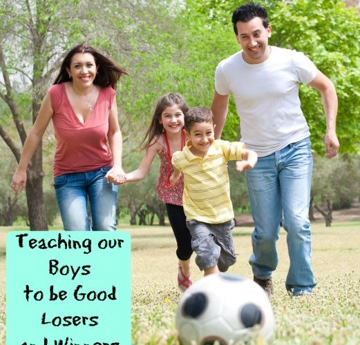 Teaching Our Boys to Be Good Losers and Winners
