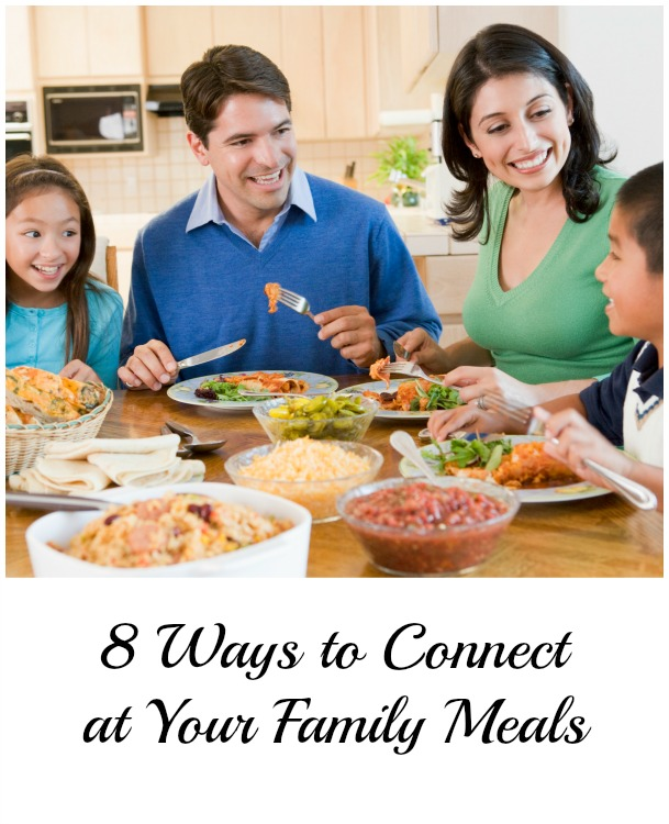 connect at family meals