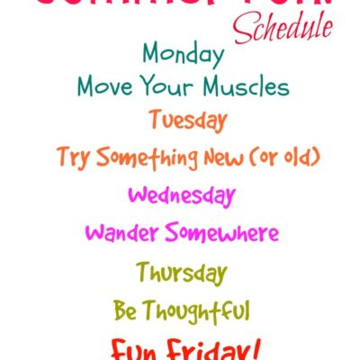 Our Flexible Summer Schedule