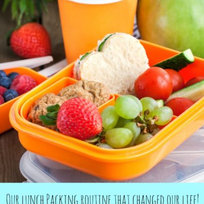 Our Lunch Packing Routine That Changed Our Life