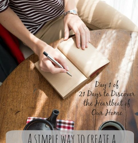 In 3 Simple Steps Create Your Family Mission Statement