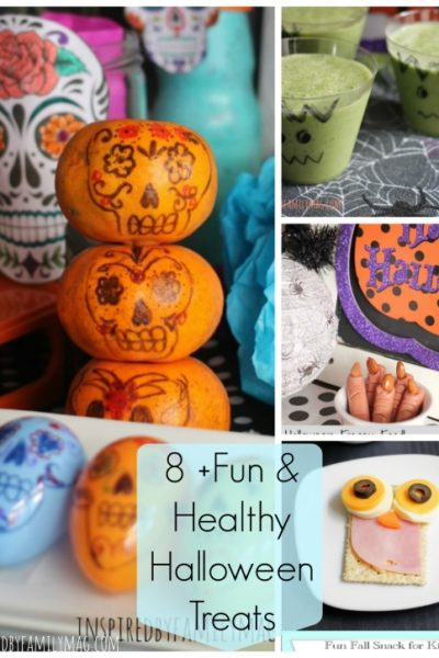Fun & Healthy Halloween Treats