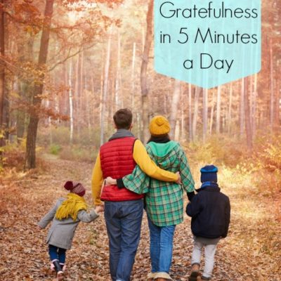 Teach Gratefulness in 5 Minutes a Day