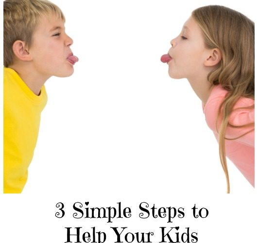 3 Simple Steps to Help Your Kids with Sibling Rivalry