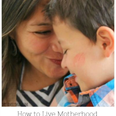 How to Live Motherhood Authentically With What You've Been Given