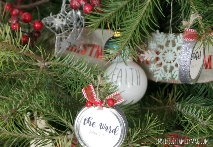 I have two ways you can use the Names of Jesus Christmas Ornaments Advent. One way is to have your child take out an ornament and hang it on the tree or ...