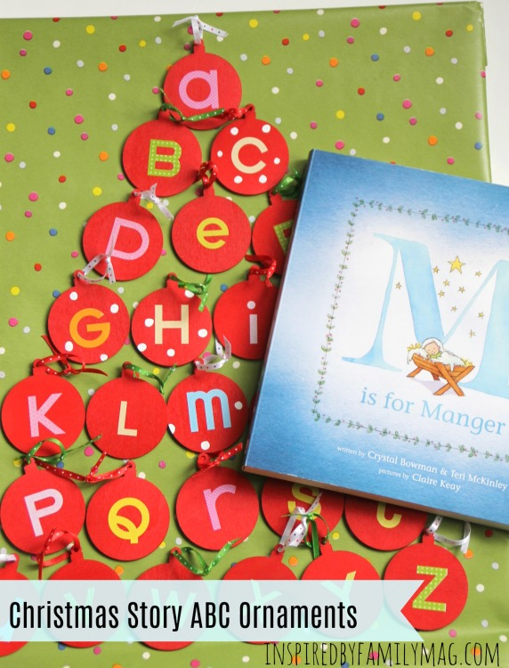 Christmas Story For Preschoolers.Christmas Story Abc Ornaments Activity For Preschoolers M