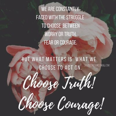 The Struggle is Real: Worry Versus Believing the Truth