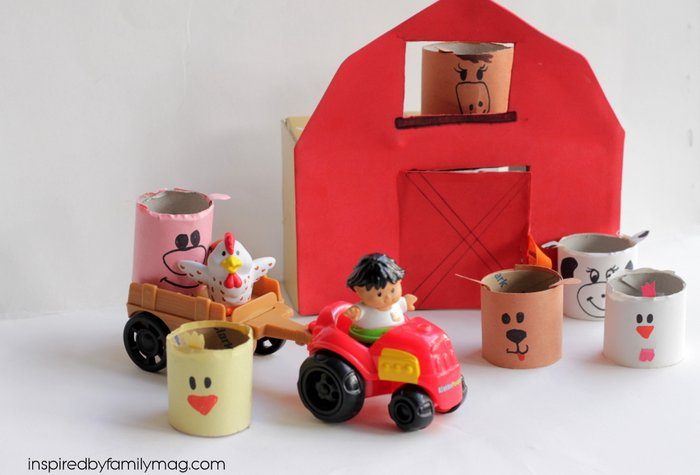 crafts and activities for kids made with recyclables