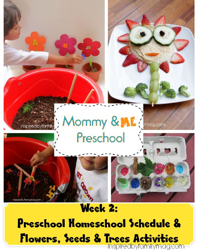 Flowers & Seeds Activities for Preschoolers